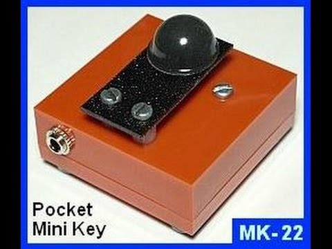 MK-22 Pocket Mini CW Key