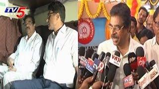 నేను ఎంపీగా ఉండగానే రైల్వేజోన్ వస్తుంది..! | BJP MP Hari Babu Kambhampati Speaks To Media