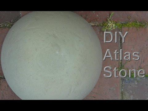 Atlas Steine selber machen – Stone / Stones aus Beton selbst gießen / machen / herstellen – DIY