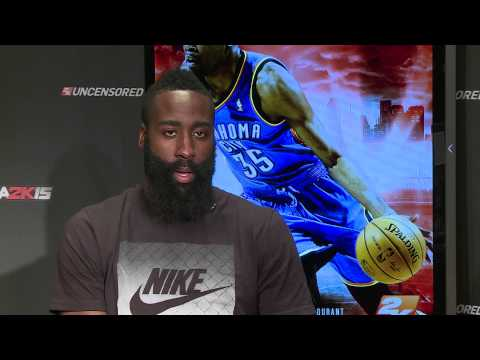 "At NBA 2K15 Event, Harden Reiterates He's  ""Best All-Around Player In The NBA"""