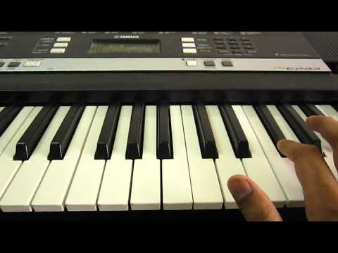 Sar jo tera chakraye piano tutorial easy slow