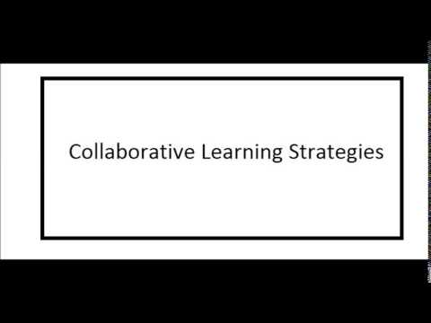 collaborative writing strategies Collaborative strategies students can indicate in writing at the top of the first page the these suggestions may facilitate different uses of collaborative.