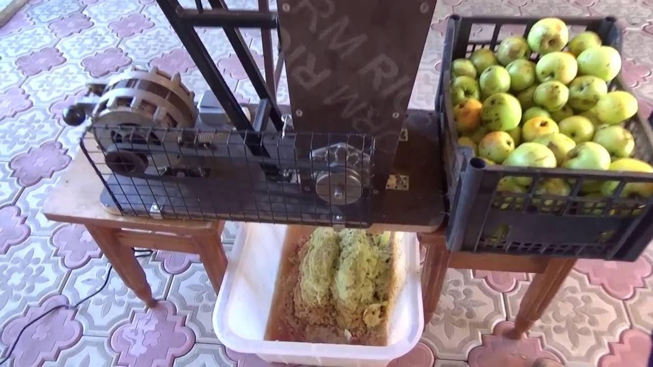 Терка для яблок своими руками часть 1 2