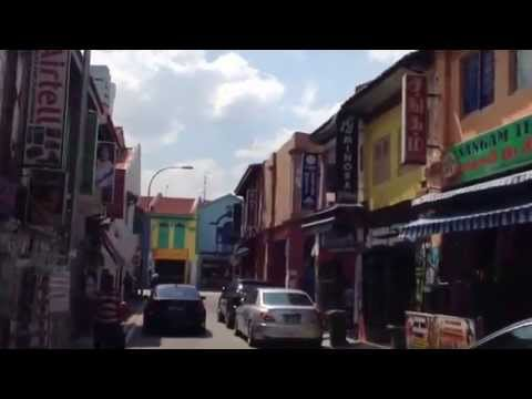 Moonhin TV Gear and Joe discover Arab Street and Little India on a bike