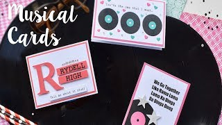 Sizzix Lifestyle - Musical Cards with Katie Skilton