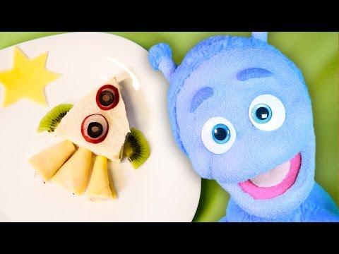 Gotowanie Dla Dzieci - Zabawna Kanapka Rakieta - Ubu
