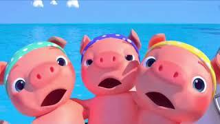 Con Lợn Éc   Con Cò Bé Bé   Nhạc Thiếu Nhi. Cả Tuần Đều Vui   Nhạc Thiếu Nhi Hay Nhất
