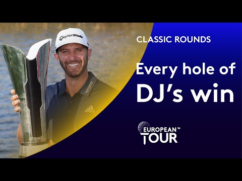 Every hole of DJ's winning round in Saudi | Classic Round Highlights
