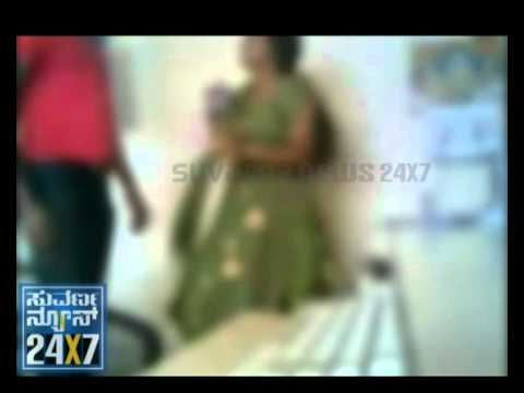 SUVARNA NEWS - SEX SCANDAL - ROMANCE IN POLICE STATION