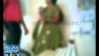 SUVARNA NEWS - SEX SCANDAL - ROMANCE IN POLICE STATION