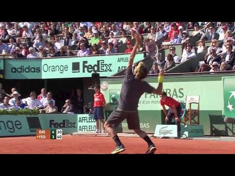 [HD] Roger Federer vs. Novak Djokovic French Open 2012 Semifinal HIGHLIGHTS