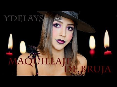 Bruja sexy maquillaje ydelays halloween witch makeup for Como pintarse de bruja guapa