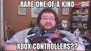 My Xbox One Custom Controller Collection! 2 One of a kind controllers!