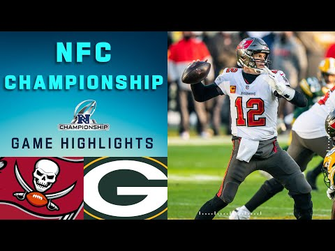 Buccaneers vs. Packers NFC Championship Game Highlights  NFL 2020 Playoffs