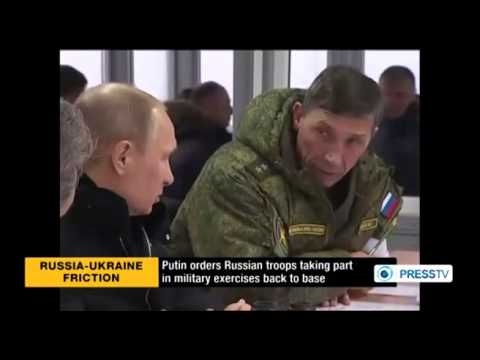 Russia orders troops back to bases