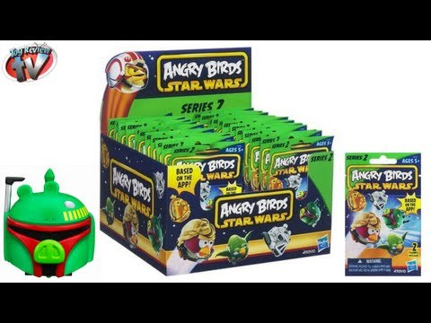 Angry Birds Star Wars Series 2 Blind Bag Figures Toy Review, Hasbro