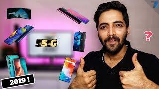 Top 6 5G Smartphones To Launch in 2019!