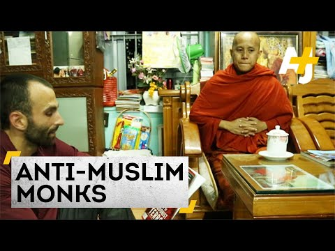 Myanmar's Anti-muslim Monks video