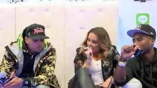 Chris brown at powerhouse 2014 interview with power 105 breakfastclub