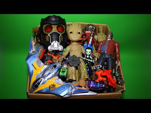Toy Box: Guardians of the Galaxy, Cars, Dancing Groot, Star Lord Action Figures and More