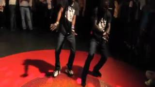 AZONTO Dance by USHER & EMMANUEL {Buddy Salsa} Learn Azonto Dance