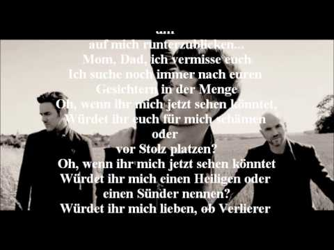 The Script - If You Could See Me Now (lyrics Video) (german Translate) video