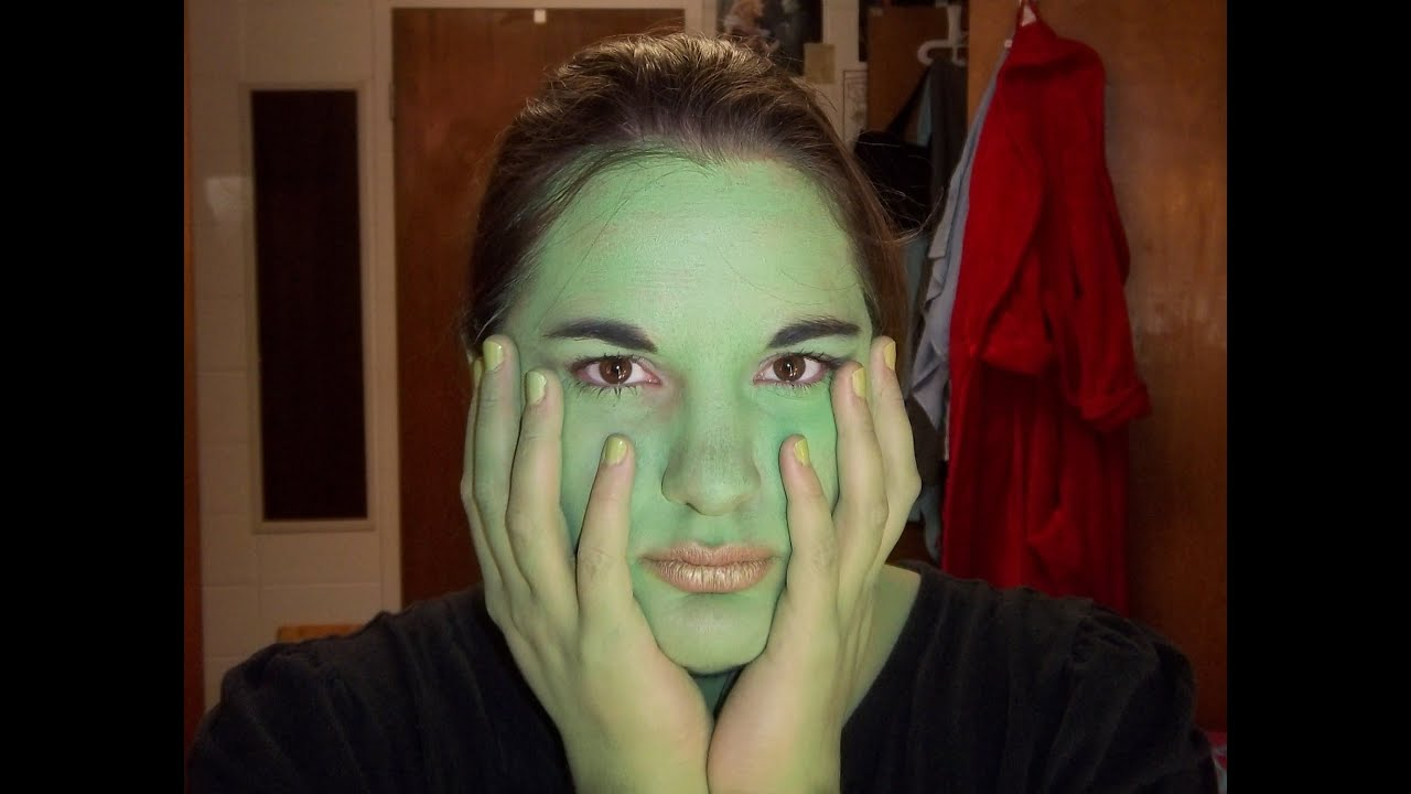 Wicked Musical Elphaba Makeup Elphaba Wicked The Musical