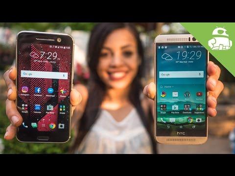 HTC 10 vs HTC One M9