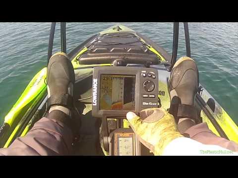 Jackson Kayak Big Rig with Torqeedo Ultralight 403 test run