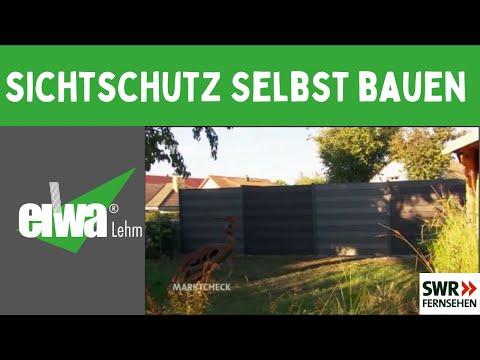 Gartenzaun Selber Bauen - Sichtschutz - Stecksystem - Montage