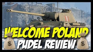 ► PUDEL Review - New Premium Stock Panther! - World of Tanks PUDEL Gameplay