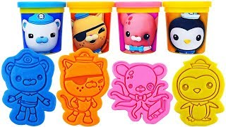 Play-Doh Octonauts Molds & Surprise Eggs, Learn Colors, nursery rhymes