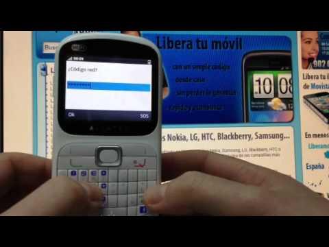 Liberar Alcatel OT-813F por código de Orange. Movistar o Vodafone