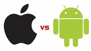 iOS против Android что выбрать ? часть 1 плюсы cмартфонов Андроид vs Apple iPhone