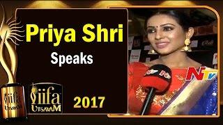 I Want to Enjoy says Priya Shri @ IIFA Utsavam || #IIFAUtsavam2017