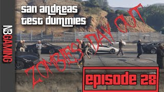 San Andreas Test Dummies Ep. 28 - Halloween Special: Zombies Day Out - GTA5