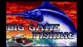 Big game fishing video gameplay (Simulmondo/1991)