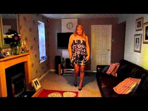 shiny dress ( crossdresser )