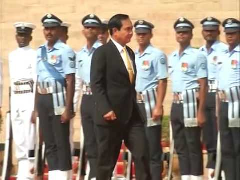 India accords ceremonial guard of honour to visiting Thai PM