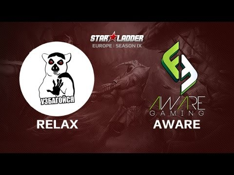 Relax vs Aware, Star Series Europe Day 28, Game 2