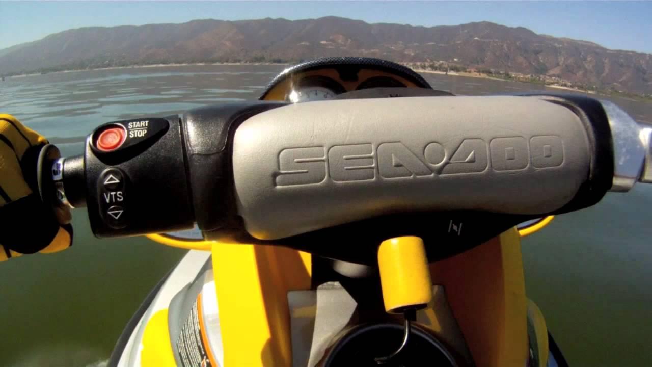 2001 Sea Doo XP Top Speed GoPro - YouTube