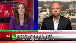 LAPD uses 'Stingray' for warrantless tracking of citizens