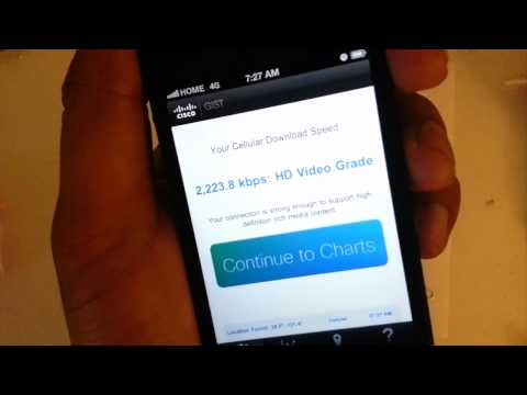 SPEED TEST iPhone 5 Prepaid SECRET: No Contract Straight Talk...4G? Huh? What? SAVE$$$