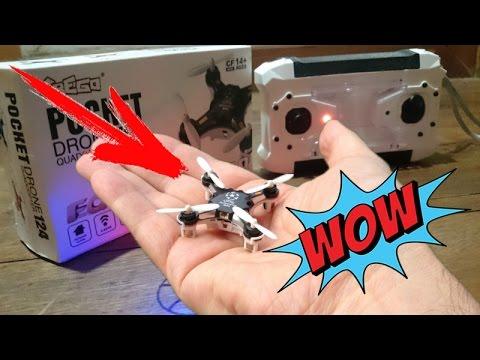 Самый маленький квадрокоптер с камерой с алиэкспресс