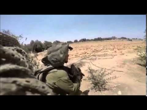 Footage of IDF Battle in Rafiach During Operation Protective Edge