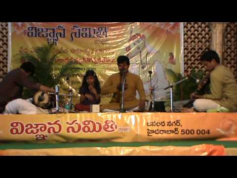 Thyagaraja songs sung by N Ch Pardhasaradhi - Hyderabad