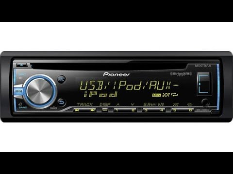 Review Of the Pioneer DEH X3800s and DEH X3800ui Receivers