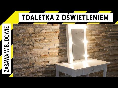 Jak Zrobić Toaletkę Z Szufladą, Oświetleniem I Lustrem