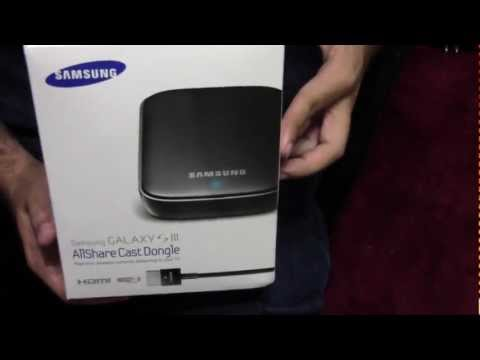 AllShare Cast Dongle Unboxing