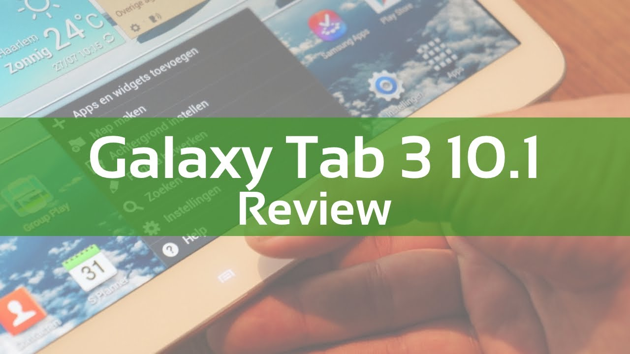 review samsung galaxy tab 3 10 1   youtube